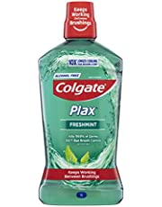 Colgate Plax Antibacterial Alcohol Free Bad Breath Control Mouthwash