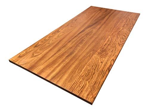 Brazilian Cherry Desk Top for Standing Desks and DIY Desks by HardwoodDesktops - Cherry Brazilian Jatoba
