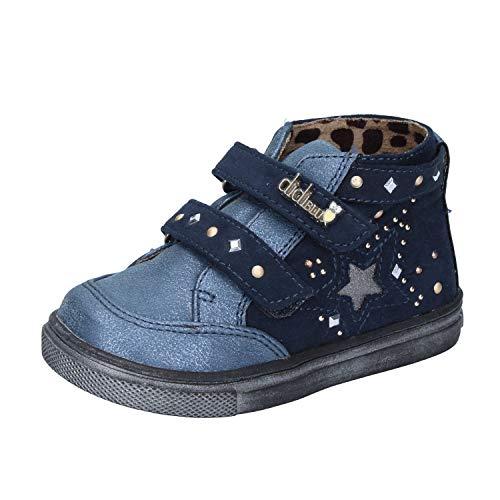 DIDI BLU Fashion-Sneakers Baby-Girls Suede Blue 5.5 US