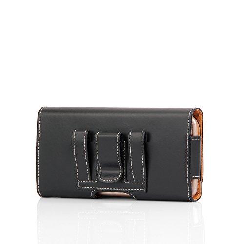 iPhone 66S Plus Wallet Leder Tasche Wallet Case Gürtel Clip Case Holster für Apple 66S Plus 14cm Herren Taille Tasche