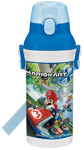Plastic One-touch bottle 480ml Mario Kart 8 PSB5SAN