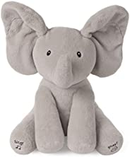 Baby GUND Animated Flappy the Elephant Stuffed Animal Plush, Gray, 12&