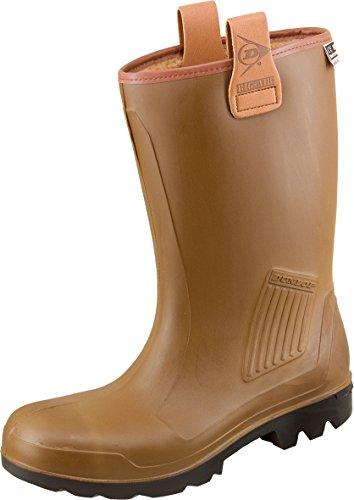 Dunlop - Calzado de protección para hombre marrón