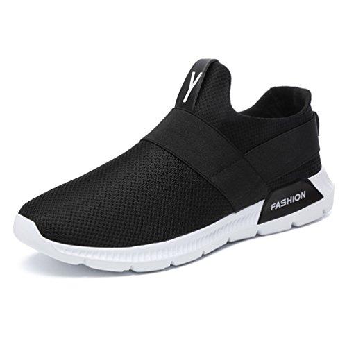 Basse Lacet Chaussure Jogging Basket Homme Confortable Course Chaussure Loisir Sport de sans 46 39 Sneakers Légère Noir Running t4wHWPqfSH