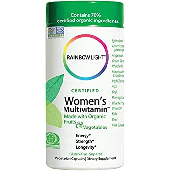 Amazon Com Rainbow Light Women S One Multivitamin 150