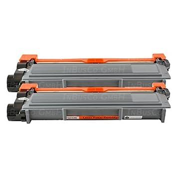 2 x Toner TN2320 para Brother HL de l 2300d, HL-L 2320d, HL-L ...