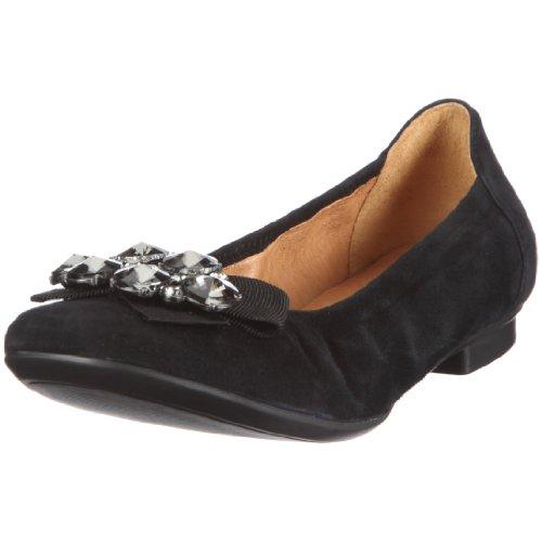 Gabor Women's Ballet Flats Black - Schwarz/Schwarz QexghUe