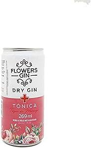 Gin Tônica Flowers Flowers Sabor MORANGO 269Ml