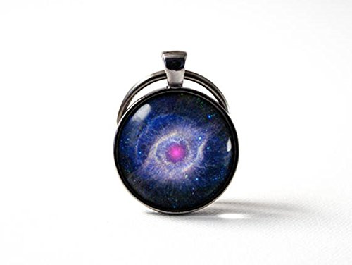 - Magical magnet Nebula Keychain Galaxy key chain