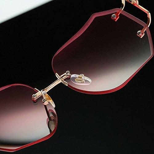 b95e46429b535 ... Lunettes De Soleil Covermason Hommes femmes lentille transparente  verres Spectacle Metal Frame myopie lunettes Lunette Femme ...