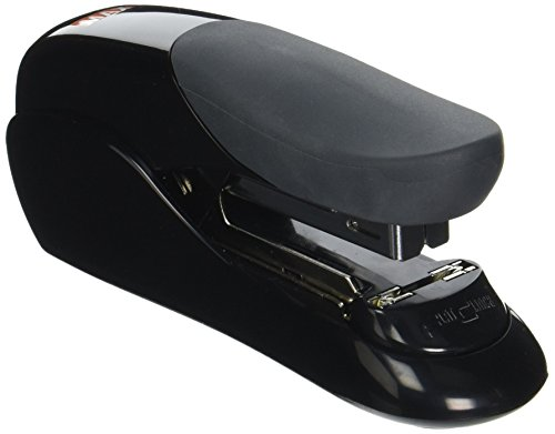 Max USA Easy Grip Heavy Duty Desk Stapler (HD-50F BLACK) ()