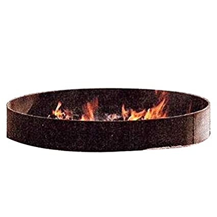 """Large 75"""" Diameter Steel Metal Fire Pit Campfire Ring ... - Amazon.com : Large 75"""