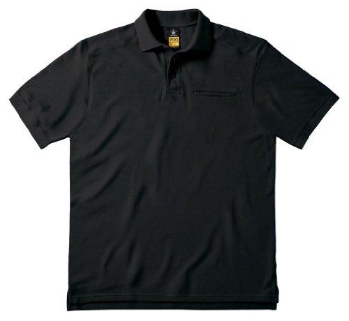 Arbeits-Poloshirt 'Skill Pro' mit Brusttasche, Farbe:Black;Größe:3XL 3XL,Black