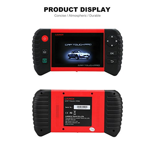 Launch CRP Touch Pro 5.0'' Android Touch Screen OBD2 Diagnostic Scan Tool for ABS, SRS, Transmission,Engine,Battery Registration, EPB, Oil Service Light Reset by Launch (Image #6)