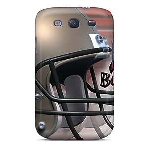 Galaxy S3 Tampa Bay Buccaneers Print High Quality Tpu Gel Frame Case Cover