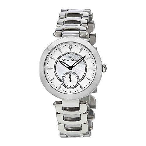 (Lucien Piccard Women's LP-10268-22 Casablanca Analog Display Silver-Tone Watch)