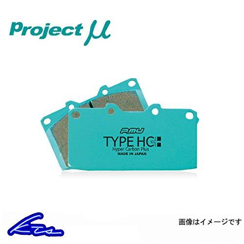 プロジェクトμ タイプHC+ リア左右セット ブレーキパッド ロードスター NA8C B07BRRVQVJ