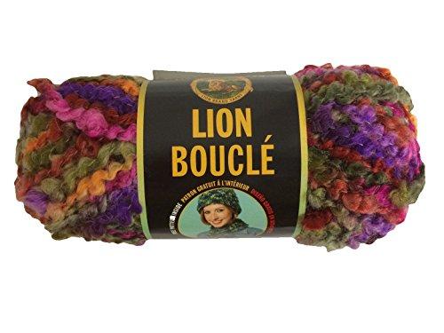 Lion Brand Boucle Yarn-Tutti Frutti