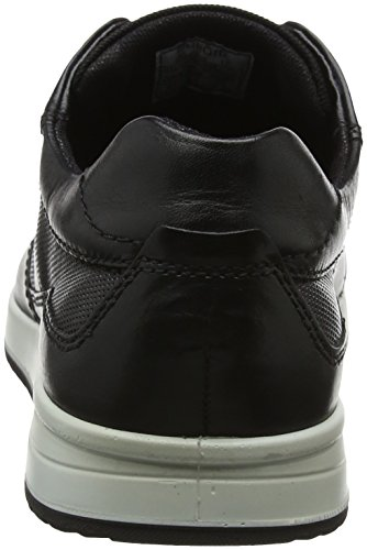 Les Hommes Noir Bugatti Baskets noir 311385021000 vqBFwZCq4