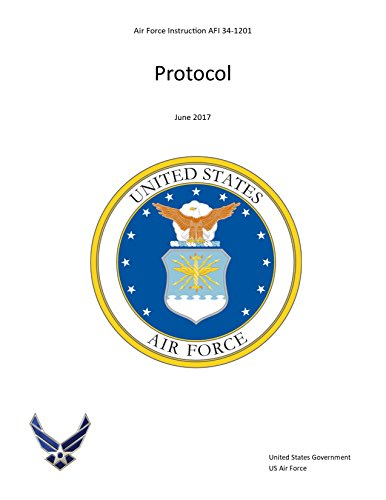 (Air Force Instruction AFI 34-1201 Protocol June 2017)
