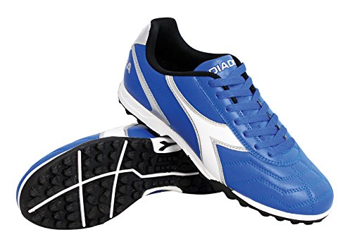 Diadora Men's Capitano TF Turf Soccer Shoes (8.5 D(M) US, Royal / White / Silver) (Shoes Men Soccer Turf)