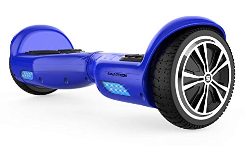 Swagtron Swagboard Twist T881 Lithium-Free and Ul2272 Certified Hoverboard, Blue, One Size