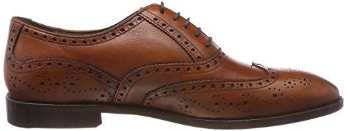 177 Brogue para Sinnfonie Marrón Zapatos Cognac Classic de Cordones Hombre pOwzIxfq