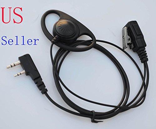 et Mic For Kenwood Radio TK-2200L TK-2202L TK-3200L TH-D7 TH-D7A ()