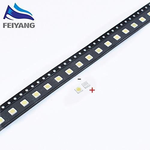Value-Trade-Inc - 50PCS WOOREE LED Backlight 2W 6V 3535 150LM Cool white WM35E2F-YR09B-eA LCD Backlight for TV TV Application
