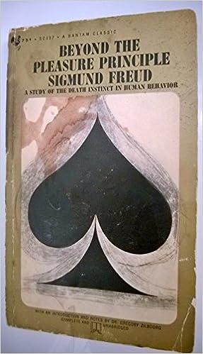 Book reviews on sigmund freuds beyond the pleasure principle galleries 976