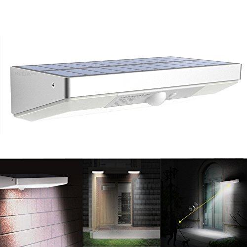 Hi Tec Led Solar Lights Outdoor 760 Lumen 48 Led Motion
