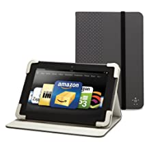 """Belkin Dot Cover with Stand for Kindle Fire HD 8.9"""", Gravel"""