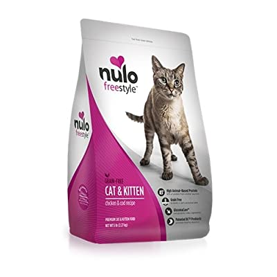 Cat Food Nulo Adult & Kitten Grain Free Dry Cat Food with BC30 Probiotic,... [tag]
