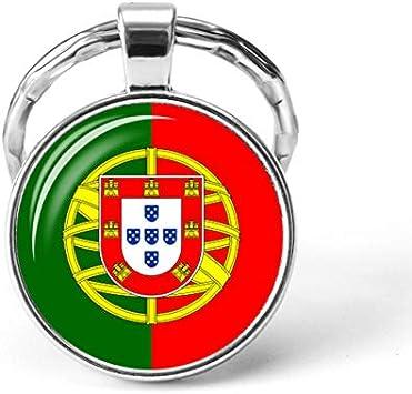 Países del Sur De Europa Bandera Llavero España Italia Portugal ...