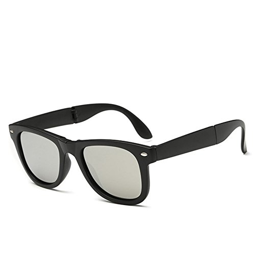 A-Royal Mens Fashion Cool Polarized Foldable Wayfarer - What The Are Most Sunglasses Popular