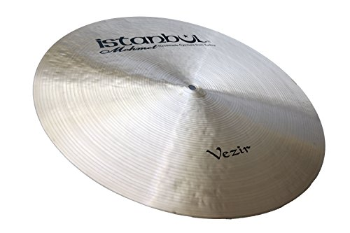 Istanbul Mehmet Cymbals Custom Series RVF18 18-Inch Vezir Flat Ride Cymbal