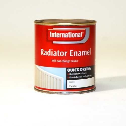 International Quick-Drying Radiator Gloss Enamel Primer/Paint - 500ml (Paint For Radiator compare prices)