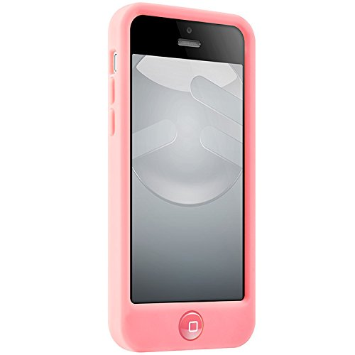 Case Switcheasy Silicone (SwitchEasy Colors Silicone Case for iPhone 5C - Retail Packaging - Baby Pink)