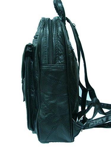 Noir dos Sac au YOJAN pour main noir PIEL à noir porté 550 femme Tq7qR