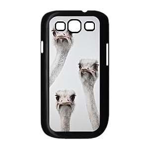 DIY Phone Case for Samsung Galaxy S3 I9300, The Ostrich Cover Case - HL-R678166 wangjiang maoyi