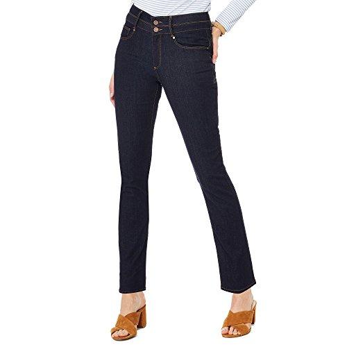 J by Jasper Conran Womens Blue Denim Straight Leg Jeans