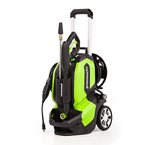 Greenworks GPW2005 Pressure Washer, 2000 PSI, green