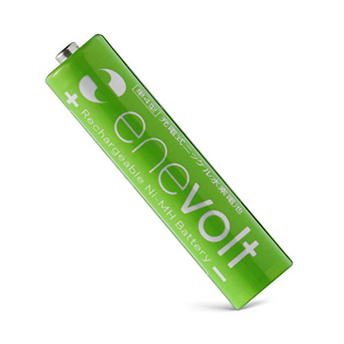 enevolt AAA 900mAh Ni-MH Rechargeable Batteries with 1,000 Recharge Cycles and Low Self-Discharge, Pre-Charged (8 Pack)