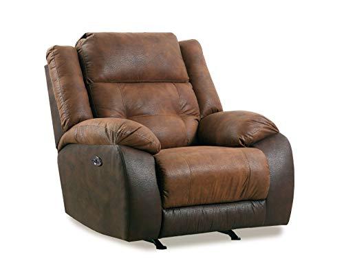 Lane Home Furnishings 56411P-19 Commander Mocha POWER RECLINER, brown -  United Furniture Industries