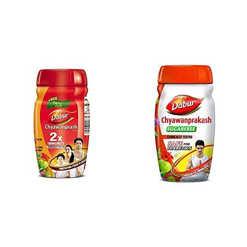 Dabur Chyawanprash 2X Immunity – 500g (Get 75 g Free) & Dabur Ashwagandhadi Lehya – 225 g