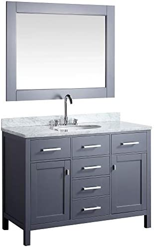 LUCA Kitchen Bath LC48CGW Geneva 48″ Single Vanity Set