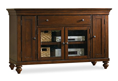 Hooker Furniture 1037-56401 Wendover 56'' Entertainment Console, Medium Wood (Console Stand Tv 56')