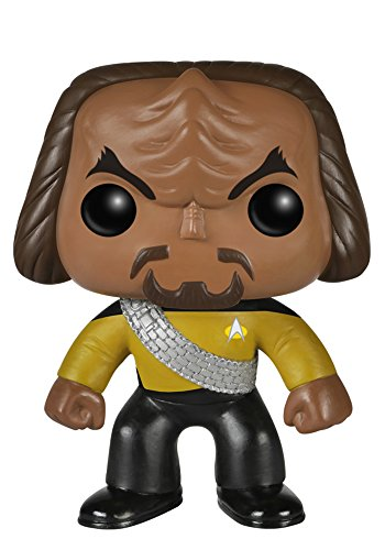 Funko POP TV: Star Trek The Next Generation - Worf Action Figure