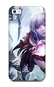 linJUN FENGNew Aion Anime Tpu Skin Case Compatible With Iphone 5c