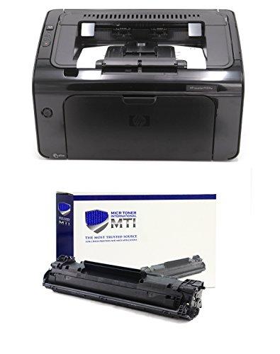 MTI P1109W MICR Check Printing Package Includes 1 LaserJet P1109W Printer and 1 MTI CE285A 85A MICR Toner Cartridge
